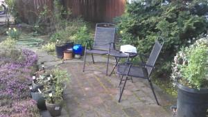 A quiet spot for conversation