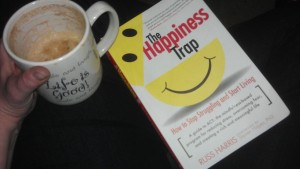 A latte, and some light reading