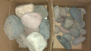 ...a box of rocks.