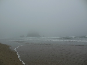 As the mist lifts...
