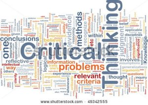 someone else's critical thinking word cloud.