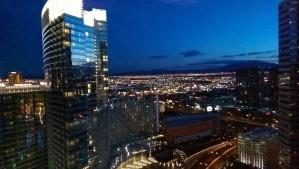Las Vegas at Sunset.