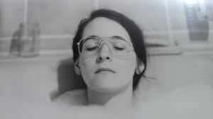 A much younger me, a bubblebath, and possibly contemplating similar challenges at a different time in life.