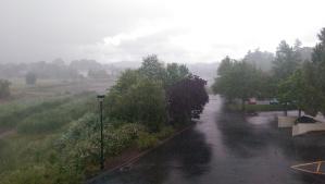 Stormy weather.