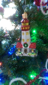 Ornaments as metaphors; love is a lighthouse.