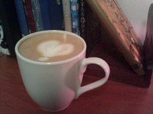 A different coffee, on a different day, in another place; memories of love are sometimes captured in pictures of coffee.