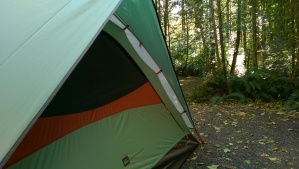 I can feel at home in a tent, among the trees... so home is not a building.