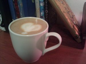 Another coffee, another day, made with love.