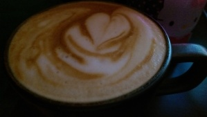 Mmm...my traveling partner makes an amazing latte. Of course I miss that. :-)
