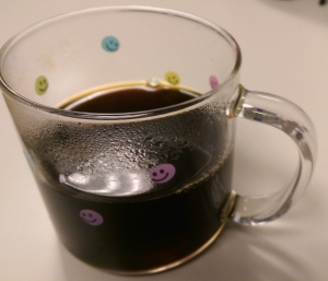 Most days I drink my coffee black; it is my habit.