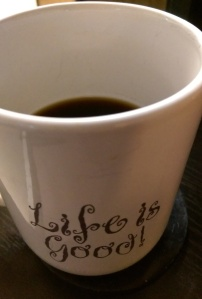 Few things are more delightful than a leisurely morning over coffee with someone I love dearly.