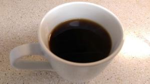 Saving the world over my morning coffee...or something similar.