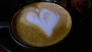 Even a cup of coffee can show love.