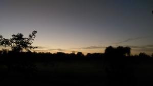 the twilight of dawn